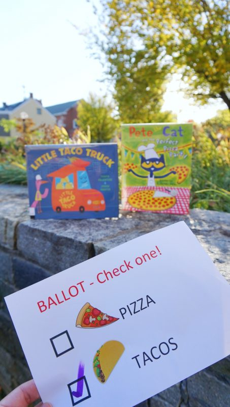 Ballot and Picture Books - Voting and Women's Suffrage Storytime   Sincerely Yasmin