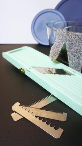 Helpful Kitchen Tools - Mandoline Slicer