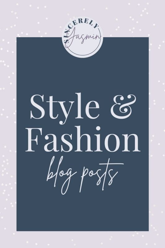 Explore Blog Posts about Style & Fashion