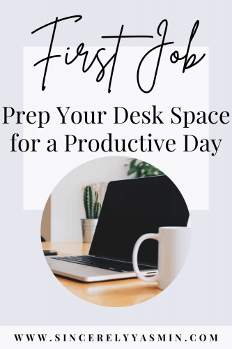 15 Items to Keep at Your Work Desk for a Smoother Work Day