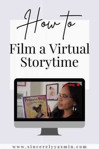 How to Film a Virtual Storytime