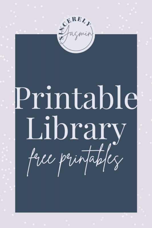 Explore the Printables Library